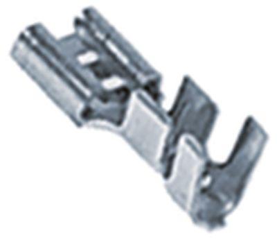 κλιπ μέγεθος 6,3x0,8 mm 2,5-6,0 mm² ευθύ Fe gal Ni  Μέγ. Θ 340°C Ποσ. 100 τεμ.