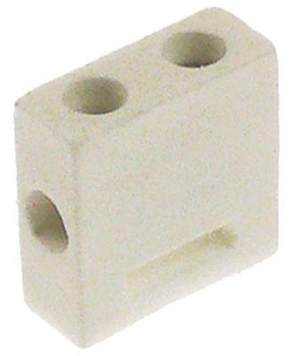 κλέμα κεραμική 1-πόλοι 2,5mm² μέγ. 32A μέγ. 400V Μ 25mm W 10mm H 25mm απόσταση στερέωσης  -mm