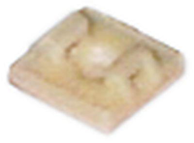 αυτοκόλλητη βάση μέγεθος 19x19 mm Ποσ. 100 τεμ.
