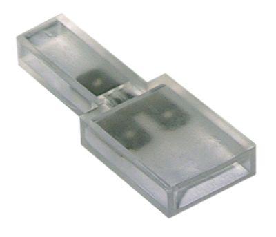 τερματικό μπλοκ διανομής 1-πόλοι σύνδεσμος αρσενικό εξάρτημα 6,3mm με βραχίονα