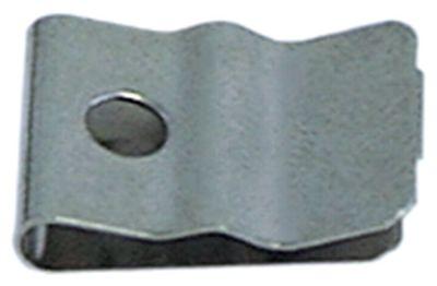 έλασμα αισθητήρα για ø σωλήνα  -mm για ø αισθητηρίου 3.1mm