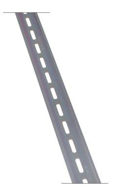 ράγα DIN W 35mm Μ 2000mm απόσταση οπής  -mm