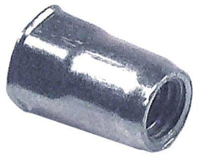 πριτσίνι σπείρωμα M5  DN 7mm Μ 12mm Ανοξείδωτο ατσάλι Ποσ. 1 τεμ.