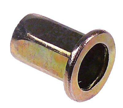 πριτσίνι σπείρωμα M10  DN 13mm Μ 22mm Ποσ. 1 τεμ.