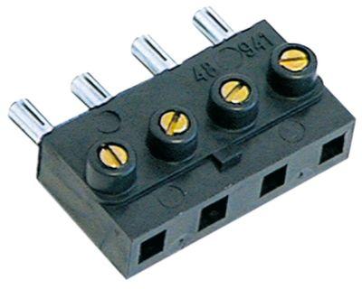 μπλοκ ακροδεκτών plug-in  4-πόλοι μέγ. 16A μέγ. 450V σύνδεσμος βιδωτή σύνδεση