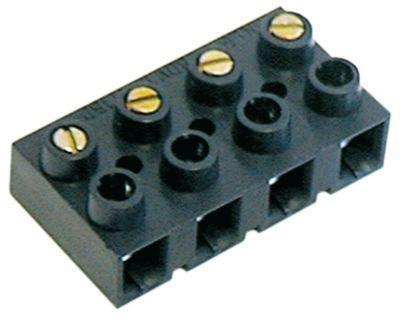 μπλοκ ακροδεκτών plug-in  4-πόλοι μέγ. 16A μέγ. 400V σύνδεσμος βιδωτή σύνδεση