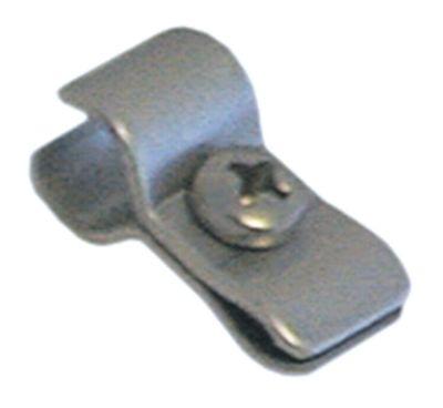 έλασμα αισθητήρα για ø σωλήνα 8,5mm για ø αισθητηρίου 6mm Μ 25mm Ποσ. 1 τεμ.