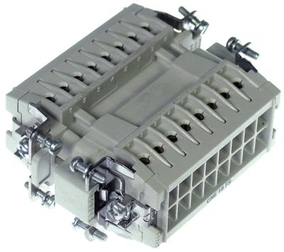 μπλοκ ακροδεκτών plug-in  16-πόλοι μέγ. 16A μέγ. 380V