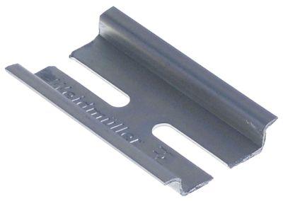 ράγα DIN W 35mm Μ 55mm απόσταση οπής 35mm