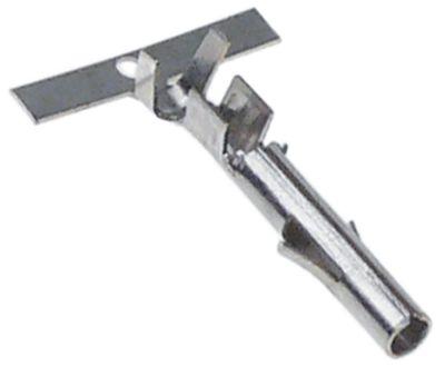 βύσμα ø 2,1mm 0,5-1,5 mm² CuZn gal Sn  Μέγ. Θ 125°C Ποσ. 1 τεμ.