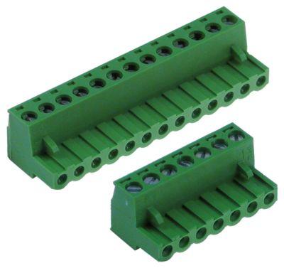 μπλοκ ακροδεκτών PCB σετ 7+13 -πόλοι μέγεθος ράστερ 5mm