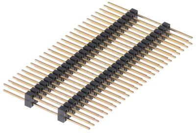 βύσμα σύνδεσης 50-πόλοι μέγεθος ράστερ 2mm