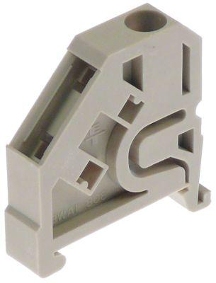 τερματικό που κινείται σε ράγα SIEMENS  τύπος 16mm² beige  για γκριλ