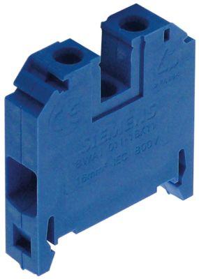 τερματικό που κινείται σε ράγα SIEMENS  16mm² μπλε H 46mm W 41mm Μ 10mm