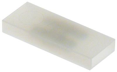 βύσμα σύνδεσης 4-πόλοι αρσενικό εξάρτημα 6,3mm Μ 52mm