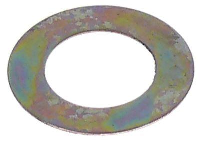 ροδέλες ø αναγν. 8.5mm ΕΞ. ø 14mm πάχος 0.3mm χάλυβας Ποσ. 1 τεμ.