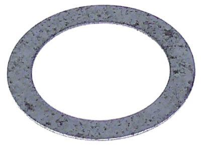 ροδέλες ø αναγν. 17mm ΕΞ. ø 24mm πάχος 0,5mm χάλυβας Ποσ. 1 τεμ.