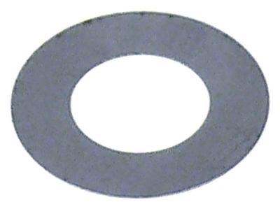 ροδέλες ø αναγν. 10mm ΕΞ. ø 19mm πάχος 0.3mm χάλυβας Ποσ. 1 τεμ.