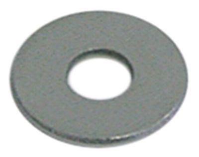 ροδέλες ø αναγν. 4,3mm ΕΞ. ø 12mm πάχος 1,2mm Ποσ. 20 τεμ. DIN 9021  για σπείρωμα M4