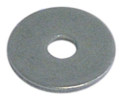 ροδέλες ø αναγν. 4,3mm ΕΞ. ø 16mm πάχος 1,6mm Ποσ. 20 τεμ. DIN 9021  για σπείρωμα M4