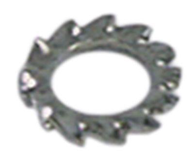 ροδέλα ασφαλείας ø αναγν. 6,2mm ΕΞ. ø 11mm Ανοξείδωτο ατσάλι DIN/ISO DIN 6798A  Ποσ. 20 τεμ.