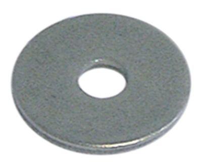 ροδέλες ø αναγν. 6,4mm ΕΞ. ø 24mm πάχος 2mm Ανοξείδωτο ατσάλι Ποσ. 20 τεμ. DIN 9021