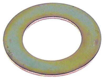 ροδέλες ø αναγν. 13mm ΕΞ. ø 22mm πάχος 0.8mm χάλυβας Ποσ. 1 τεμ.