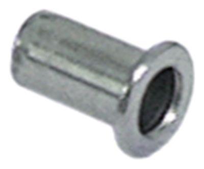 πριτσίνι Ανοξείδωτο ατσάλι σπείρωμα M5  ø 6,9mm Μ 13mm Ποσ. 10 τεμ.