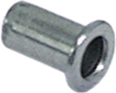 πριτσίνι Ανοξείδωτο ατσάλι σπείρωμα M8  ø 11mm Μ 18mm Ποσ. 10 τεμ.