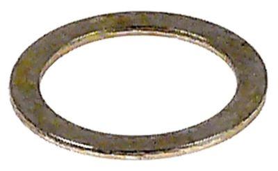ροδέλες ø αναγν. 12mm ΕΞ. ø 16mm πάχος 0,8mm χάλυβας Ποσ. 1 τεμ.