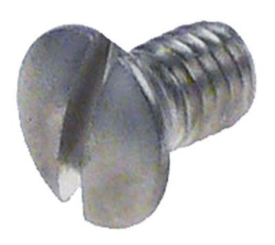 βίδες σπείρωμα M5  Μ σπειρώματος 5mm ανοξείδωτος χάλυβας Ποσ. 1 τεμ. ø κεφαλής 9mm
