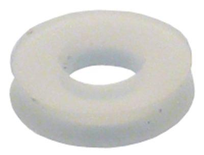 ροδέλες ø αναγν. 4mm ΕΞ. ø 9,6mm πάχος 2mm σιλικόνη Ποσ. 1 τεμ.