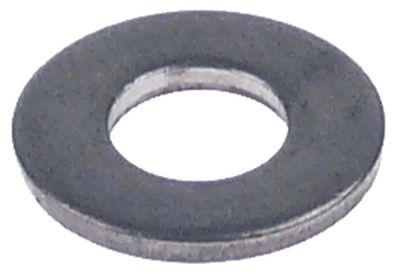 ροδέλες ø αναγν. 6,4mm ΕΞ. ø 14mm πάχος 1,4mm ανοξείδωτος χάλυβας Ποσ. 1 τεμ.