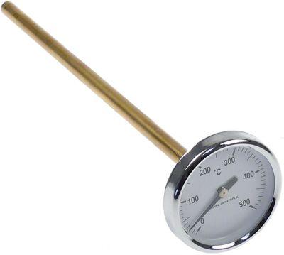 θερμόμετρο ø 63,6mm ø διάταξης στερέωσης 9mm Μέγ. Θ 500°C 0 έως +500°C ø αισθητηρίου 9mm