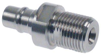 νίπελ ανοξείδωτος χάλυβας σπείρωμα 1/2″  Ποσ. 1 τεμ.