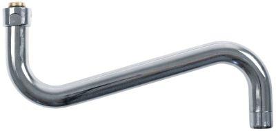 στόμιο S  ø σωλήνα 24mm προεκβολή 250mm ύψος στομίου 120mm σπείρωμα 3/4
