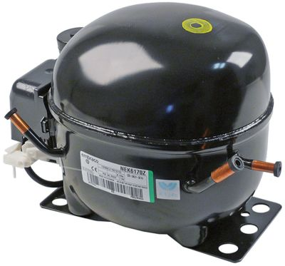 συμπιεστής ψυκτικό R134a  τύπος NEK6170Z  220-240 V 50Hz HBP  πλήρως ερμητικό 10.4kg 1/4HP