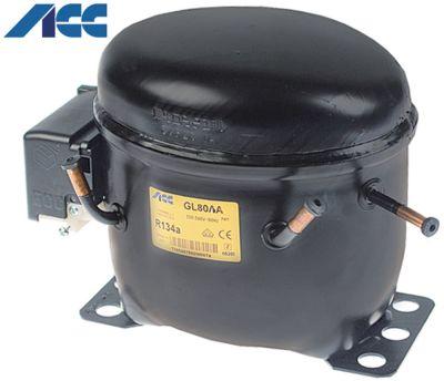 συμπιεστής ψυκτικό R134a  τύπος GL80AA  220-240 V 50Hz LBP  πλήρως ερμητικό 9kg 1/5HP