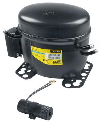 συμπιεστής ψυκτικό R134a  τύπος FR7.5G  42856HP είσοδος ισχύος 175W χωρητικότητα κυλίνδρου 6,93cm³