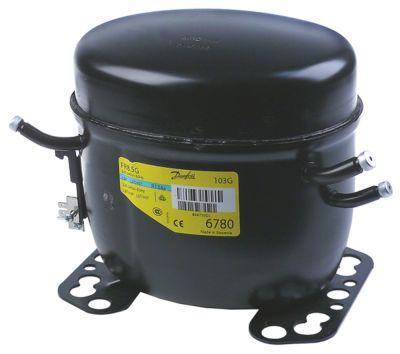 συμπιεστής ψυκτικό R134a  τύπος FR8.5G  42826HP είσοδος ισχύος 261W χωρητικότητα κυλίνδρου 7,95cm³