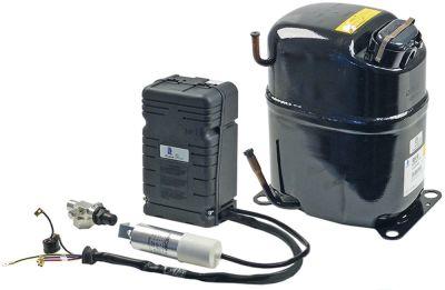 συμπιεστής ψυκτικό R404A  τύπος CAJ2464Z  220-240 V 50Hz LBP  πλήρως ερμητικό 21,5kg 1,5HP