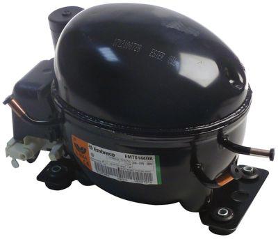 συμπιεστής ψυκτικό R404a/R507  τύπος EMT6144GK  220-240 V 50Hz HMBP  πλήρως ερμητικό 8.1kg 1/6HP