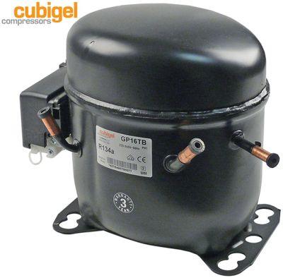 συμπιεστής ψυκτικό R134a  τύπος GP16TB  220-240 V 50Hz HMBP  12kg 3/8HP είσοδος ισχύος 690W