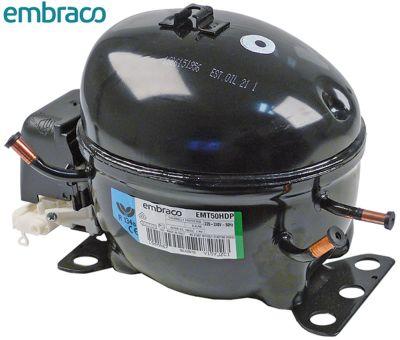 συμπιεστής ψυκτικό R134a  τύπος EMT50HDP  220-240 V 50Hz HBP  7.8kg 1/6HP