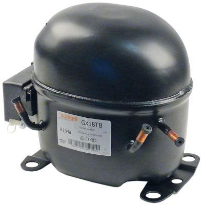 συμπιεστής ψυκτικό R134a  τύπος GX18TB  220-240 V 50Hz HMBP  16kg 1/2HP είσοδος ισχύος 1390W