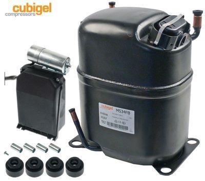 συμπιεστής ψυκτικό R404a/R507  τύπος MS34FB  220-240 V 50Hz LBP  22.7kg 1HP