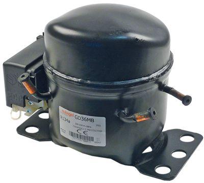 συμπιεστής ψυκτικό R134a  τύπος GD36MB  220-240 V 50Hz HMBP  6.7kg 1/10HP είσοδος ισχύος 180W