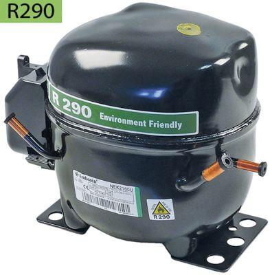 συμπιεστής ψυκτικό R290  τύπος NEK2160U  220-240 V 50Hz LBP  11.9kg 3/4HP