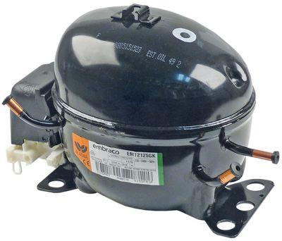 συμπιεστής ψυκτικό R404a/R507  τύπος EMT2125GK  220-240 V 50Hz LBP  7,8kg 42795HP