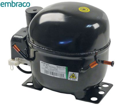 συμπιεστής ψυκτικό R290  τύπος NEK2150U  220/240 V 50Hz LBP  11.6kg 1/2HP